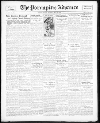 Porcupine Advance, 26 May 1932