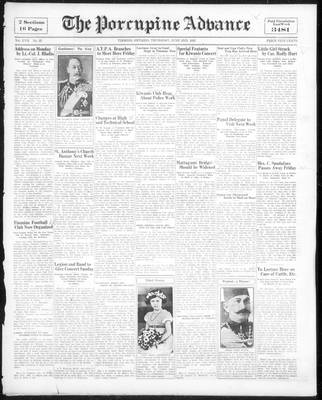 Porcupine Advance, 2 Jun 1932