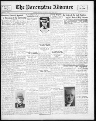 Porcupine Advance, 21 Jul 1932