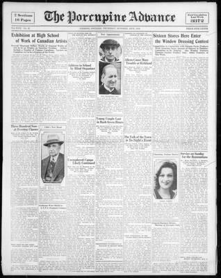 Porcupine Advance, 20 Oct 1932