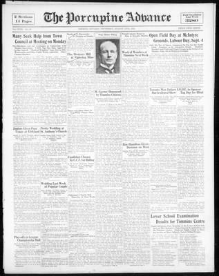 Porcupine Advance, 17 Aug 1933