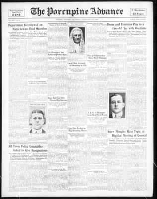 Porcupine Advance, 1 Feb 1934