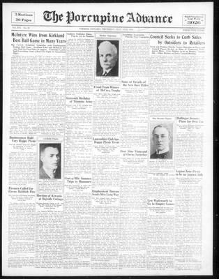Porcupine Advance, 19 Jul 1934