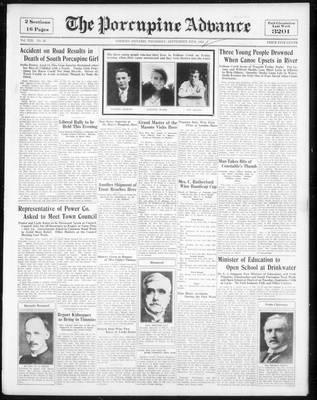 Porcupine Advance, 20 Sep 1934
