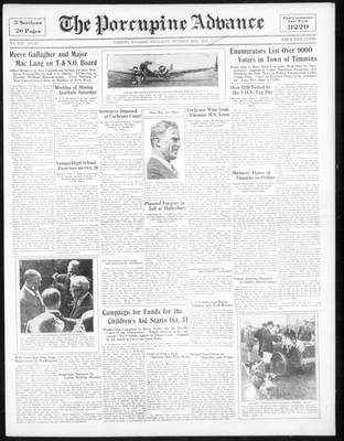 Porcupine Advance, 25 Oct 1934