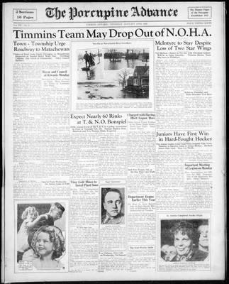 Porcupine Advance, 17 Jan 1935