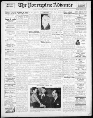 Porcupine Advance, 24 Jan 1935