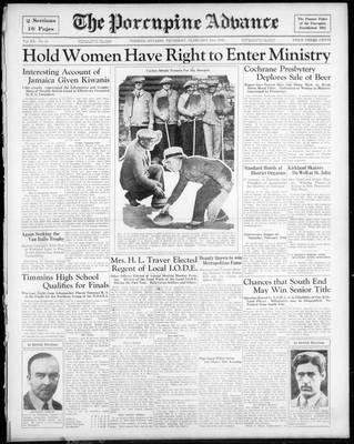 Porcupine Advance, 21 Feb 1935