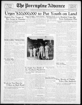 Porcupine Advance, 25 Feb 1935