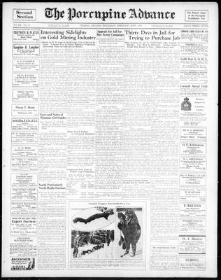 Porcupine Advance, 28 Feb 1935