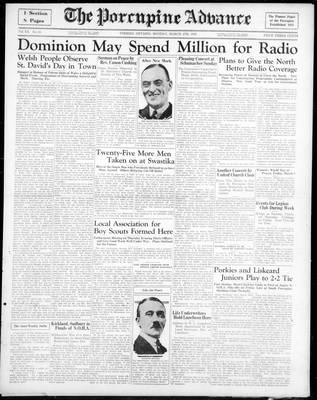 Porcupine Advance, 4 Mar 1935