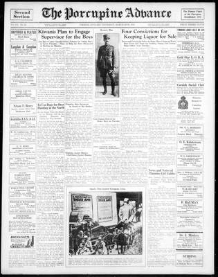 Porcupine Advance, 28 Mar 1935