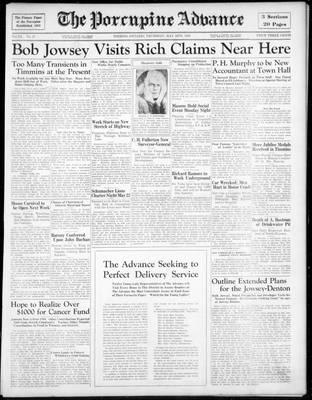 Porcupine Advance, 16 May 1935