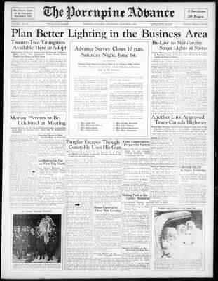 Porcupine Advance, 30 May 1935