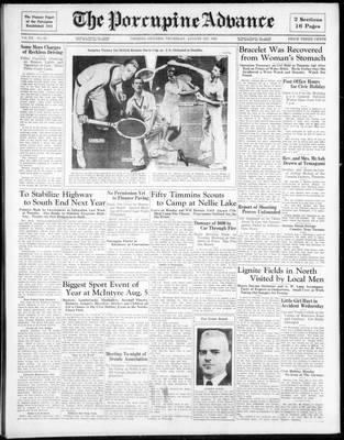 Porcupine Advance, 1 Aug 1935