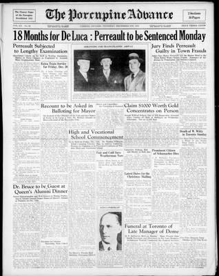 Porcupine Advance, 5 Dec 1935