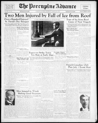Porcupine Advance, 5 Mar 1936
