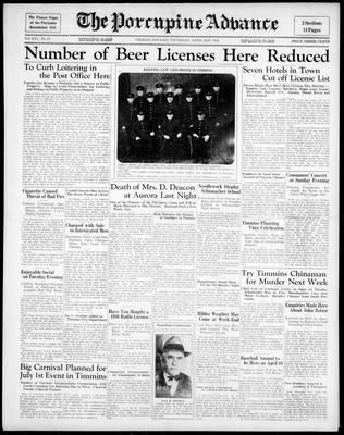 Porcupine Advance, 2 Apr 1936