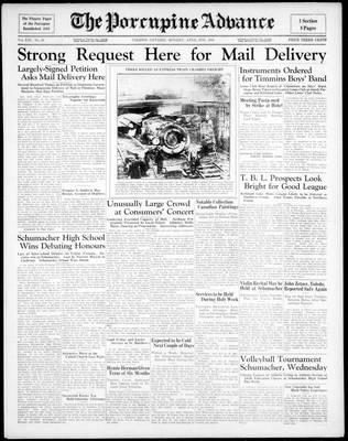 Porcupine Advance, 6 Apr 1936