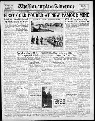 Porcupine Advance, 1 Jun 1936
