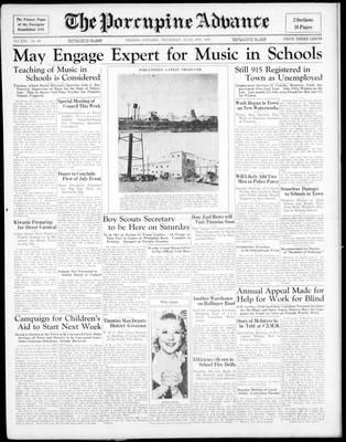 Porcupine Advance, 4 Jun 1936