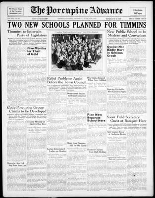Porcupine Advance, 11 Jun 1936