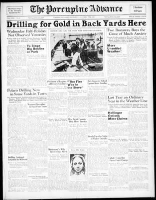 Porcupine Advance, 7 Jan 1937