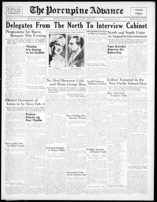 Porcupine Advance, 25 Jan 1937