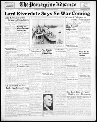 Porcupine Advance, 22 Mar 1937