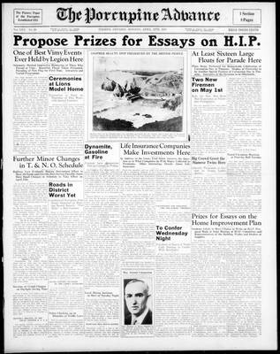Porcupine Advance, 12 Apr 1937