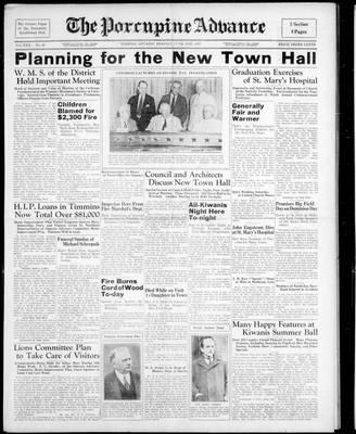 Porcupine Advance, 21 Jun 1937
