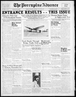 Porcupine Advance, 12 Jul 1937
