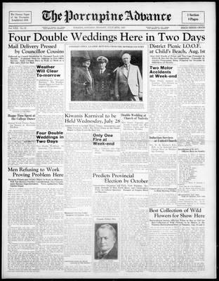 Porcupine Advance, 26 Jul 1937