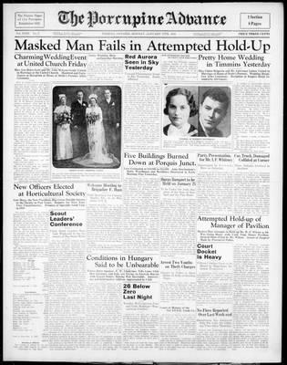 Porcupine Advance, 17 Jan 1938
