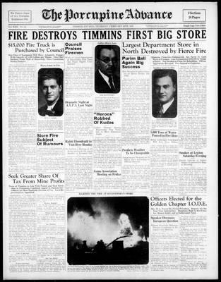 Porcupine Advance, 24 Feb 1938