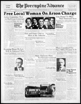 Porcupine Advance, 16 Jun 1938