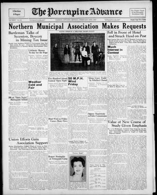 Porcupine Advance, 13 Feb 1939
