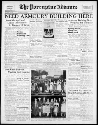 Porcupine Advance, 16 Mar 1939