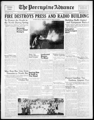 Porcupine Advance, 3 Apr 1939