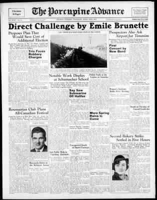 Porcupine Advance, 20 Apr 1939