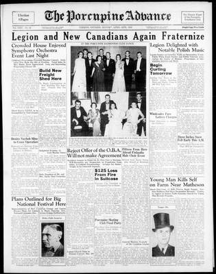 Porcupine Advance, 24 Apr 1939