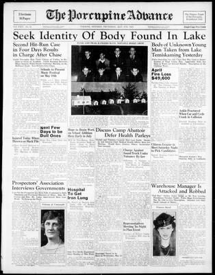 Porcupine Advance, 4 May 1939
