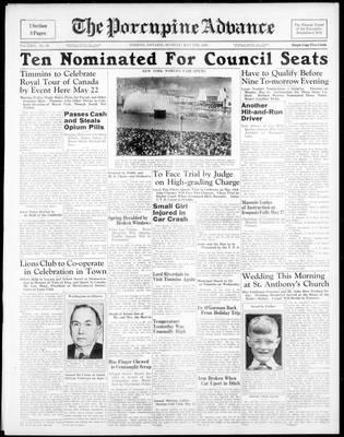 Porcupine Advance, 8 May 1939