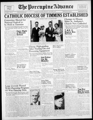 Porcupine Advance, 29 May 1939