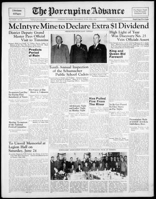 Porcupine Advance, 15 Jun 1939