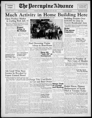 Porcupine Advance, 6 Jul 1939