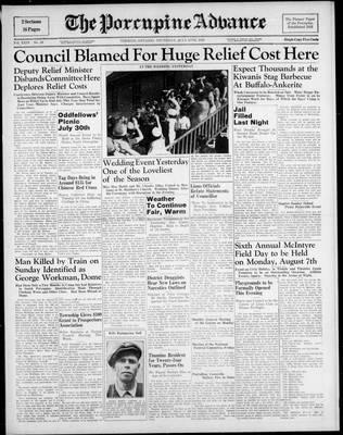 Porcupine Advance, 27 Jul 1939