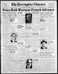 Porcupine Advance11 Sep 1939
