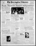 Porcupine Advance12 Oct 1939