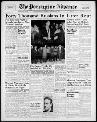 Porcupine Advance, 18 Jan 1940